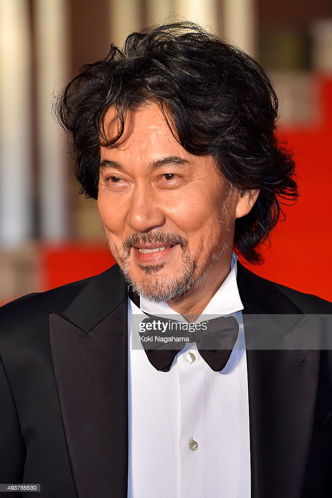 Actor <a gi-track='captionPersonalityLinkClicked' href=/galleries/search?phrase=Koji+Yakusho&family=editorial&specificpeople=616781 ng-click='$event.stopPropagation()'>Koji Yakusho</a> attends the opening ceremony of the Tokyo International Film Festival 2015 at Roppongi Hills on October 22, 2015 in Tokyo, Japan.