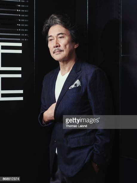 Actor Koji Yakusho is photographed for Self Assignment on September 4 2017 in Venice Italy