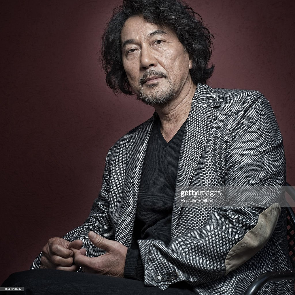 Actor <a gi-track='captionPersonalityLinkClicked' href=/galleries/search?phrase=Koji+Yakusho&family=editorial&specificpeople=616781 ng-click='$event.stopPropagation()'>Koji Yakusho</a> poses for a portrait session in Venice on September 07, 2010, during 67th Venice International Film Festival - Film ' 13 Assassins' by Takashi Miike