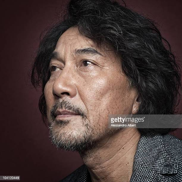 Actor Koji Yakusho poses for a portrait session in Venice on September 07 during 67th Venice International Film Festival Film ' 13 Assassins' by...