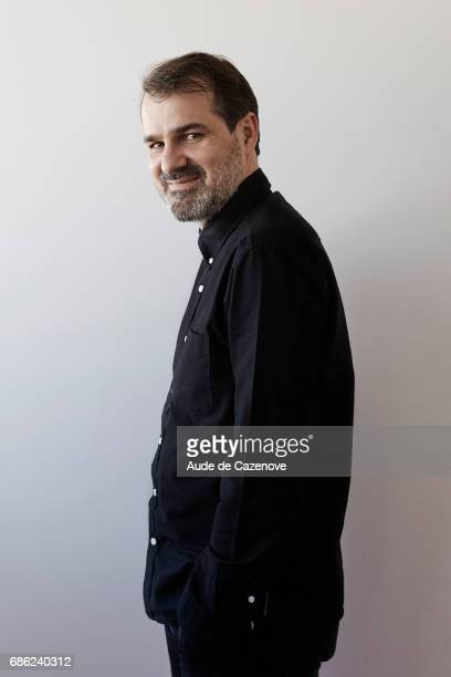 Actor Kornel Mundruczo is photographed for Self Assignment on MAY 20 2017 in Cannes France