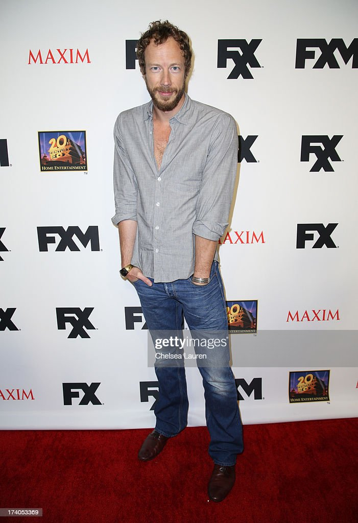 Actor Kris Holden-Ried attends the Maxim, FX and Home Entertainment Comic-Con Party on July 19, 2013 in San Diego, California.