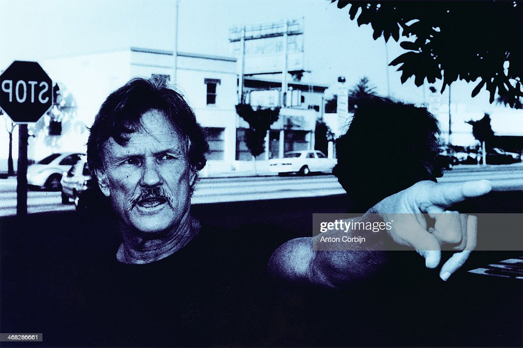 Actor Kris Kristofferson is photographed for Esquire Magazine on February 28, 1999 in Santa Monica, California.