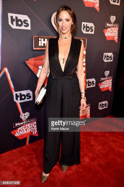 Actor Kristen Doute attends the 2017 iHeartRadio Music Awards which broadcast live on Turner's TBS TNT and truTV at The Forum on March 5 2017 in...