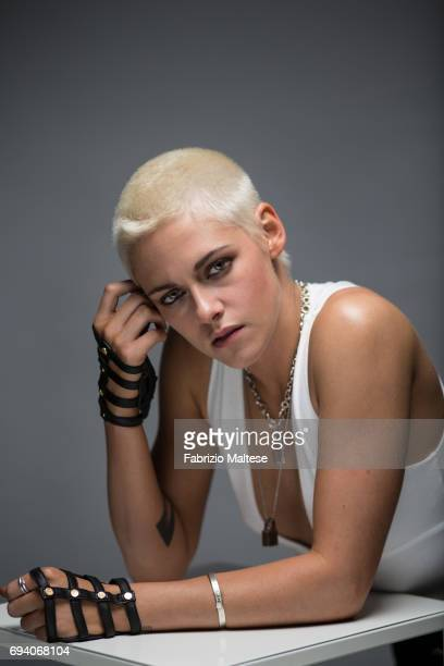 Actor Kristen Stewart is photographed for the Hollywood Reporter on May 20 2017 in Cannes France
