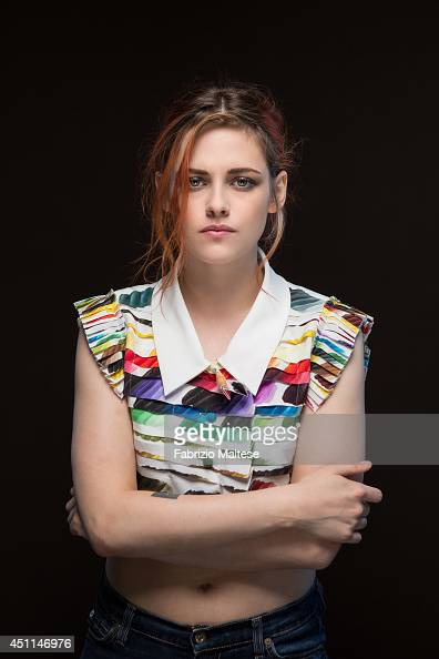 Actor Kristen Stewart is photographed in Cannes France