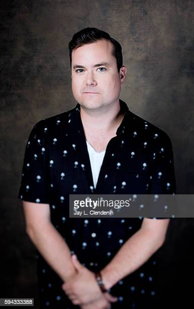Actor Kristian Bruun of 'Orphan Black' is photographed for Los Angeles Times at San Diego Comic Con on July 22 2016 in San Diego California
