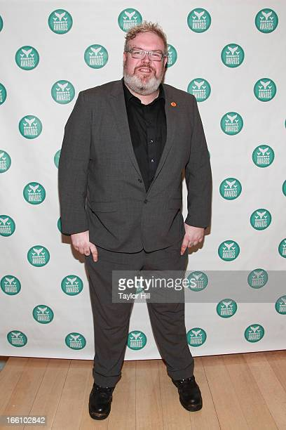 Actor Kristian Nairn attends the 2013 Shorty Awards at Times Center on April 8 2013 in New York City