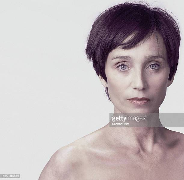 Actor Kristin Scott Thomas is photographed on April 5 2011 in London England