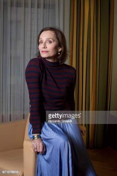 Actor Kristin Scott Thomas is photographed on February 16 2017 in Berlin Germany