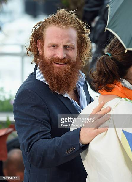 Actor Kristofer Hivju attends the 'Turist' photocall at the 67th Annual Cannes Film Festival on May 19 2014 in Cannes France