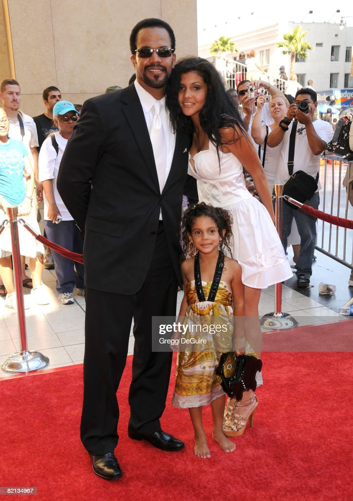 Actor Kristoff St. John and guests arrives at the 35th Annual Daytime Emmy Awards at the Kodak Theatre on June 20, 2008 in Los Angeles, California.