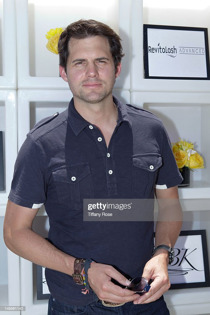 Actor <a gi-track='captionPersonalityLinkClicked' href=/galleries/search?phrase=Kristoffer+Polaha&family=editorial&specificpeople=3215132 ng-click='$event.stopPropagation()'>Kristoffer Polaha</a> attends GBK Gift Lounge In Honor of The MTV Movie Award Nominees And Presenters - Day 1 at L'Ermitage Beverly Hills Hotel on June 1, 2012 in Beverly Hills, California.