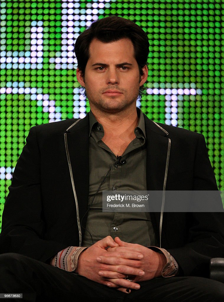 Actor Kristoffer Polaha zspeaks onstage at the Showtime 'Life Unexpected' Q&A portion of the 2010 Winter TCA Tour day 1 at the Langham Hotel on January 9, 2010 in Pasadena, California.