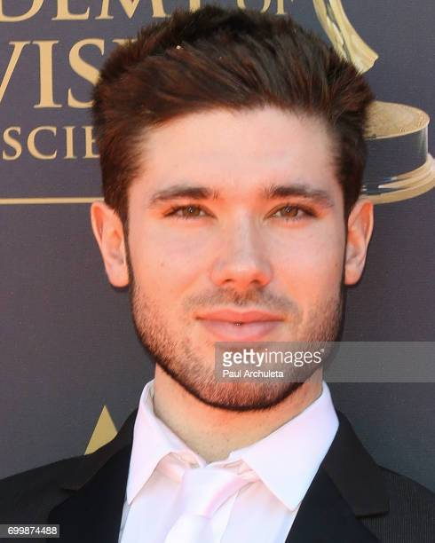 Actor Kristos Andrews attends the 44th annual Daytime Emmy Awards at The Pasadena Civic Auditorium on April 30 2017 in Pasadena California