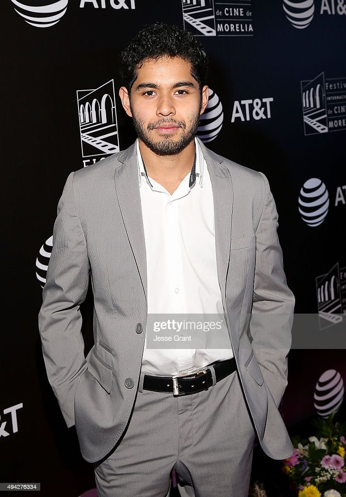 Actor Kristyan Ferrer attends the Mexico premiere of '600 Millas' during The 13th Annual Morelia International Film Festival on October 25, 2015 in Morelia, Mexico.