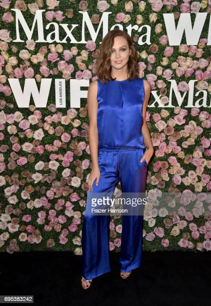 Actor Ksenija Lukich at Max Mara Celebrates Zoey Deutch The 2017 Women In Film Max Mara Face of the Future at Chateau Marmont on June 12 2017 in Los...