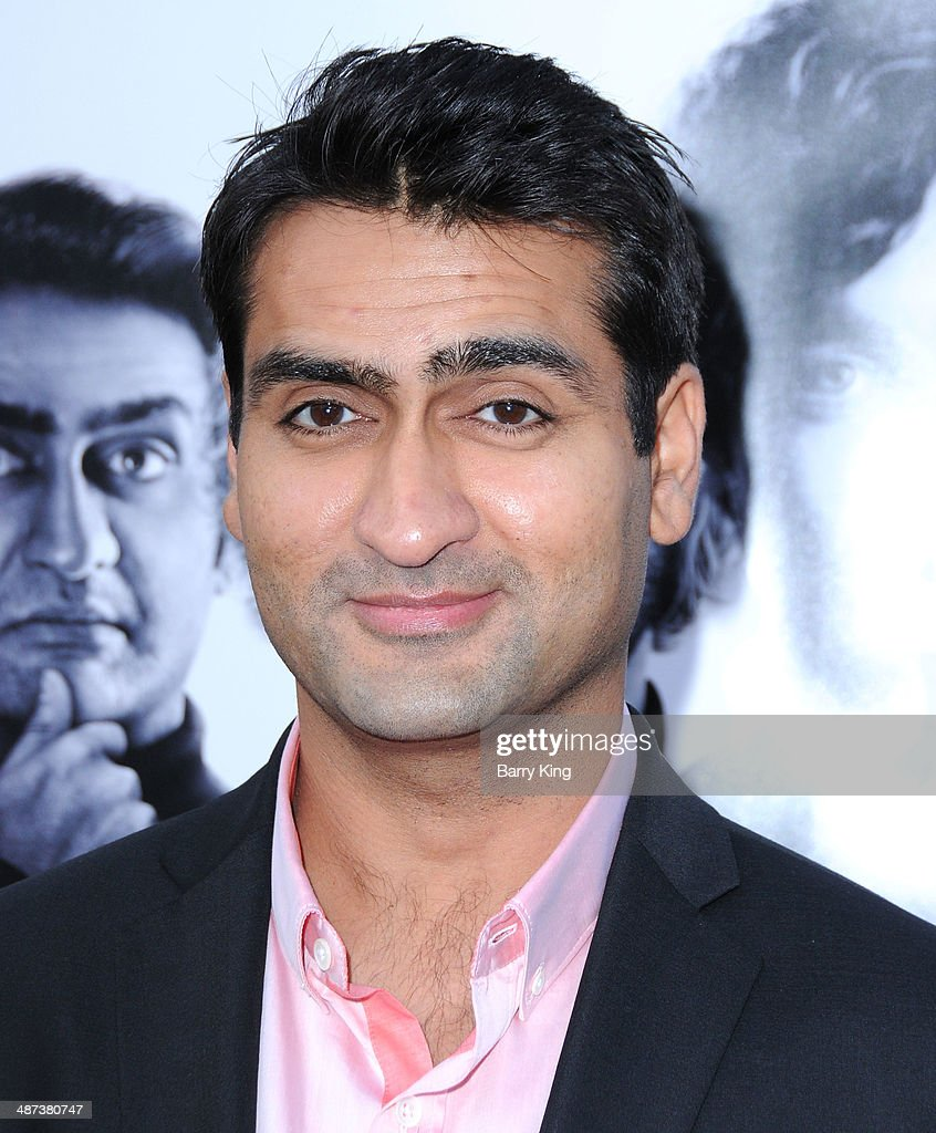 Actor Kumail Nanjiani arrives at the premiere of 'Silicon Valley' on April 3, 2014 at Paramount Studios in Hollywood, California.