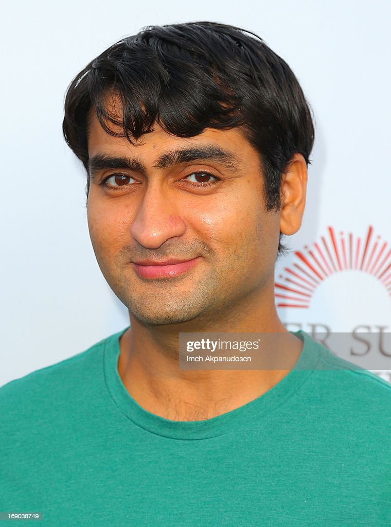 Actor <a gi-track='captionPersonalityLinkClicked' href=/galleries/search?phrase=Kumail+Nanjiani&family=editorial&specificpeople=5937944 ng-click='$event.stopPropagation()'>Kumail Nanjiani</a> attends A Night of Fresh Comedy and Art celebrating Gilda Radner's legacy at Museum of Flying on May 18, 2013 in Santa Monica, California.