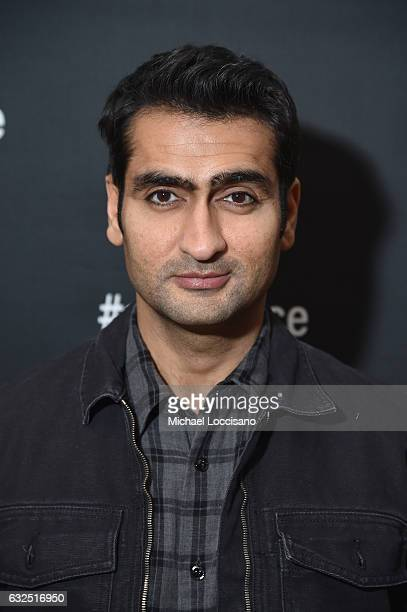 Actor Kumail Nanjiani attends the Cinema Cafe 2017 Sundance Film Festival at Filmmaker Lodge on January 23 2017 in Park City Utah