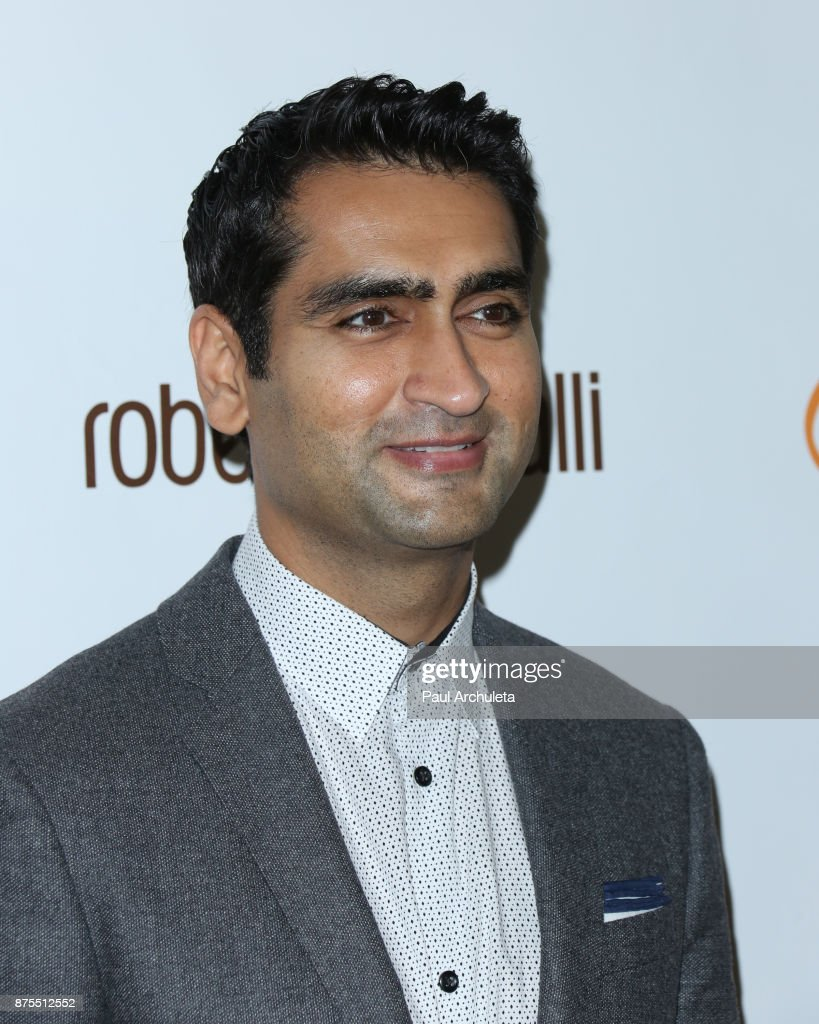Actor Kumail Nanjiani attends the Lupus LA 15th annual Hollywood Bag Ladies Lunch at The Beverly Hilton Hotel on November 17, 2017 in Beverly Hills, California.