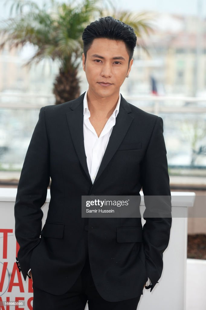 Actor Kun Chen attends 'Bends' Photocall during the 66th Annual Cannes Film Festival at Palais des Festivals on May 18, 2013 in Cannes, France.