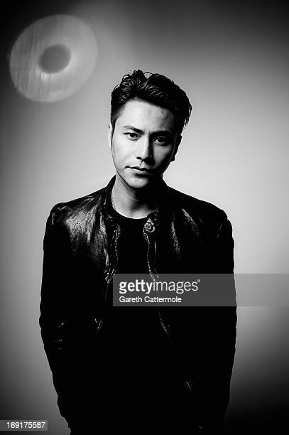 Actor Kun Chen during a portrait session at The 66th Annual Cannes Film Festival at the Palais des Festivals on May 19 2013 in Cannes France