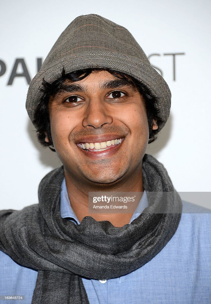 Actor Kunal Nayyar arrives at the 30th Annual PaleyFest: The William S. Paley Television Festival featuring 'The Big Bang Theory' at the Saban Theatre on March 13, 2013 in Beverly Hills, California.