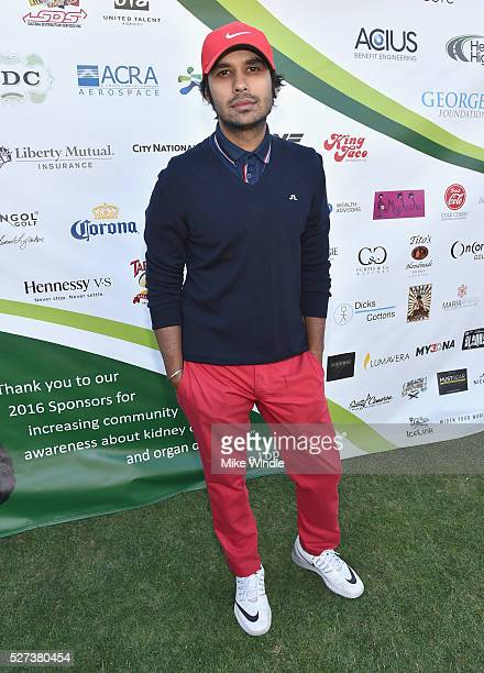 Actor Kunal Nayyar attended the 9th Annual George Lopez Celebrity Golf Classic to benefit The George Lopez Foundation on Monday May 2nd at the...