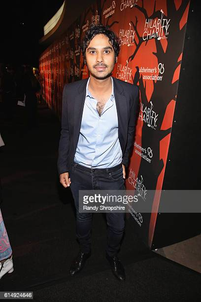 Actor Kunal Nayyar attends Hilarity for Charity's 5th Annual Los Angeles Variety Show Seth Rogen's Halloween at Hollywood Palladium on October 15...