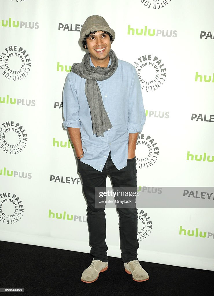 Actor Kunal Nayyar attends the 30th Annual PaleyFest: The William S. Paley Television Festival honors The Big Bang Theory held at Saban Theatre on March 13, 2013 in Beverly Hills, California.