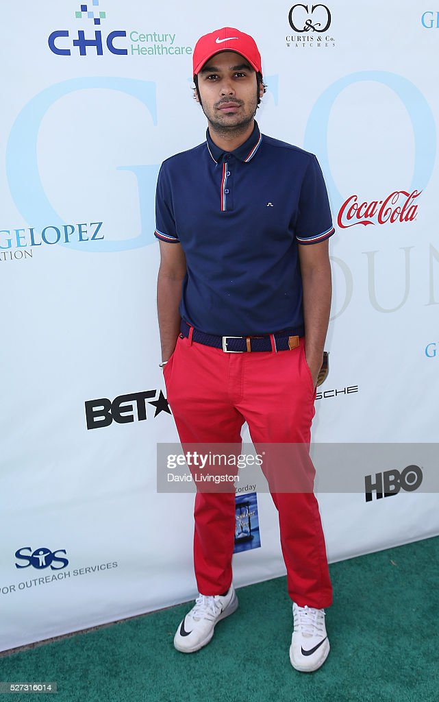 Actor <a gi-track='captionPersonalityLinkClicked' href=/galleries/search?phrase=Kunal+Nayyar&family=editorial&specificpeople=4414736 ng-click='$event.stopPropagation()'>Kunal Nayyar</a> attends the Ninth Annual George Lopez Celebrity Golf Classic at Lakeside Golf Club on May 2, 2016 in Burbank, California.