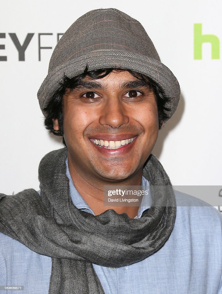 Actor Kunal Nayyar attends The Paley Center For Media's PaleyFest 2013 honoring 'The Big Bang Theory' at the Saban Theatre on March 13, 2013 in Beverly Hills, California.