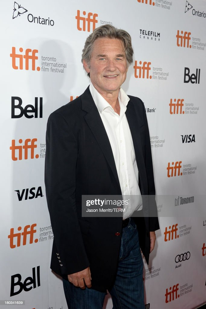Actor Kurt Russell arrives at the 'The Art Of The Steal' Premiere during the 2013 Toronto International Film Festival at Roy Thomson Hall on...