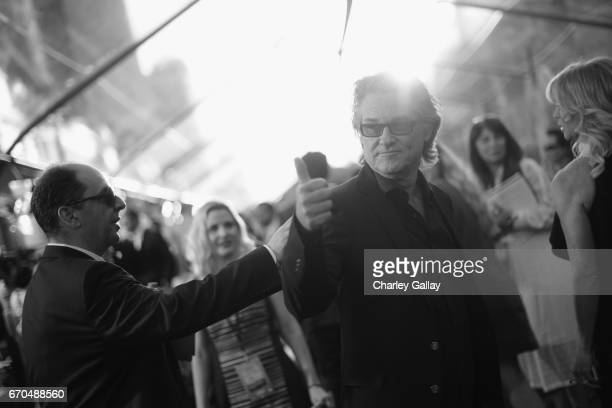 "Actor Kurt Russell at The World Premiere of Marvel Studios' ""Guardians of the Galaxy Vol 2"" at Dolby Theatre in Hollywood CA April 19th 2017"