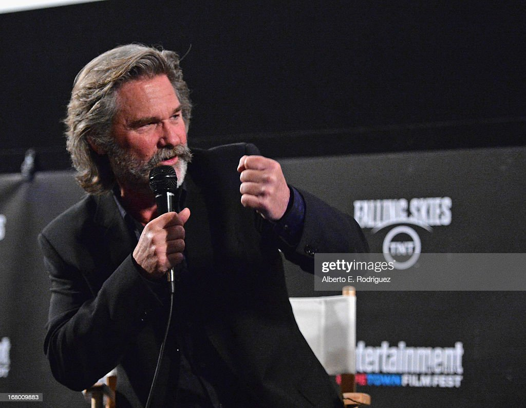 Actor Kurt Russell attends Entertainment Weekly's CapeTown Film Festival presented by The American Cinematheque and sponsored by TNT's 'Falling...