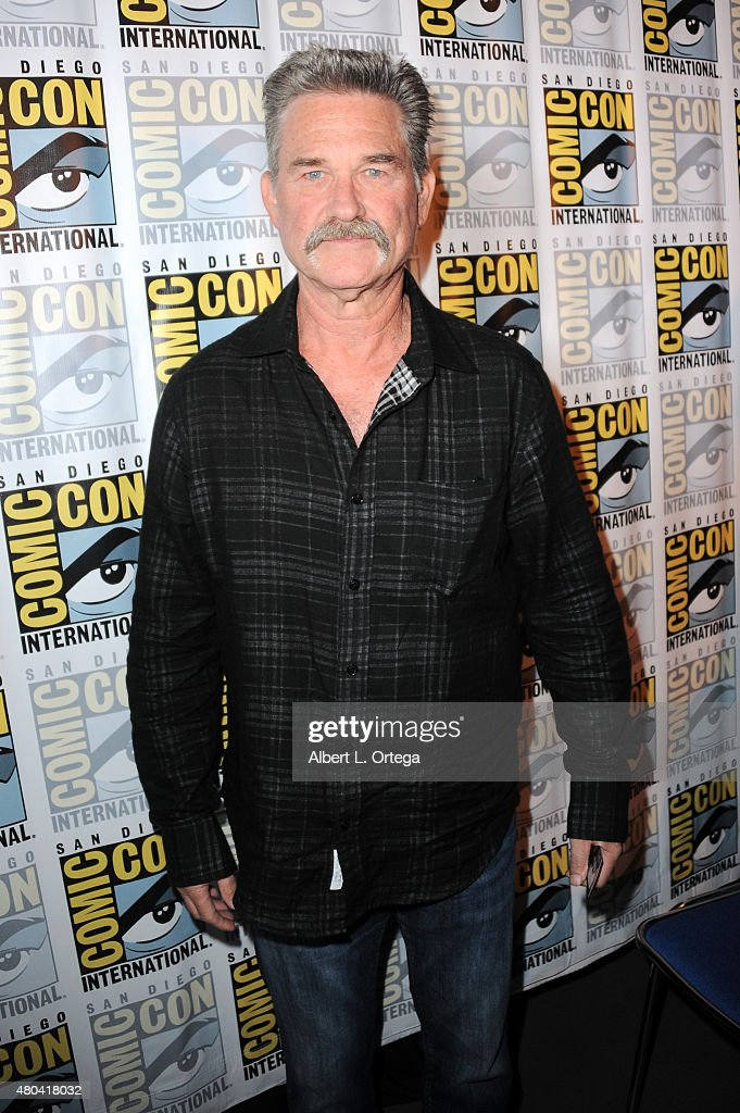 Actor Kurt Russell attends Quentin Tarantino's 'The Hateful Eight' panel during Comic-Con International 2015 at the San Diego Convention Center on July 11, 2015 in San Diego, California.