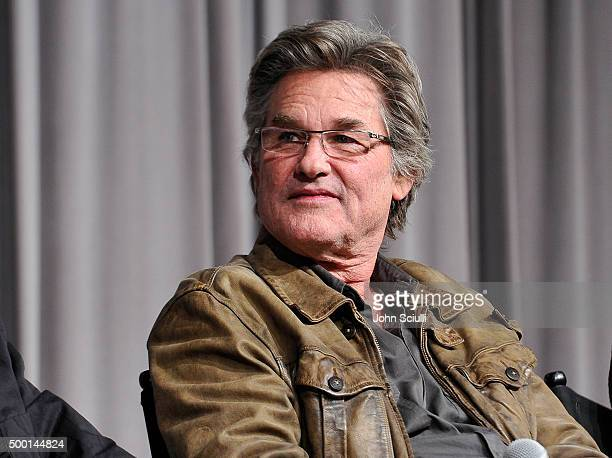 Actor Kurt Russell attends the Hateful Eight SAG Screening and QA at the Pacific Design Center on December 5 2015 in West Hollywood California