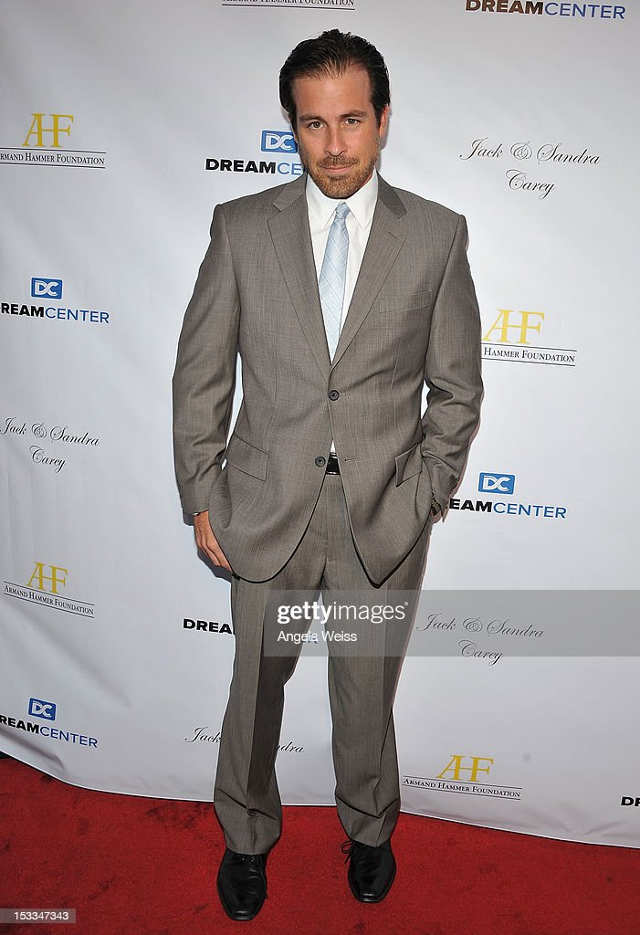 Actor Kurt Yaeger arrives to The Dream Center's 5th annual night of dreams gala at The Dream Center on October 3, 2012 in Los Angeles, California.