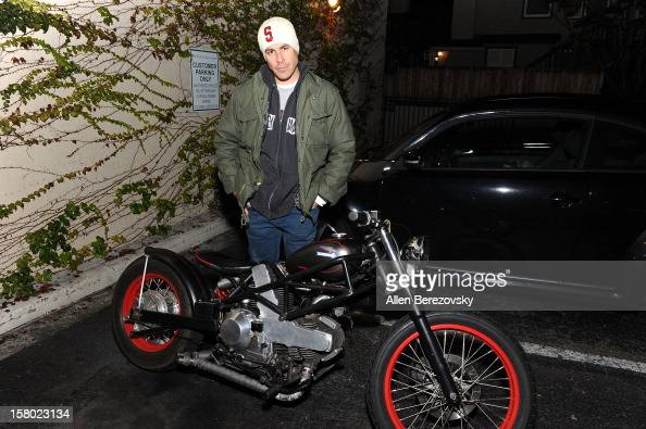 Actor Kurt Yaeger attends the launch of Peter Fonda's new men's fashion line and protective riding gear collection for Troy Lee Designs at Troy Lee...