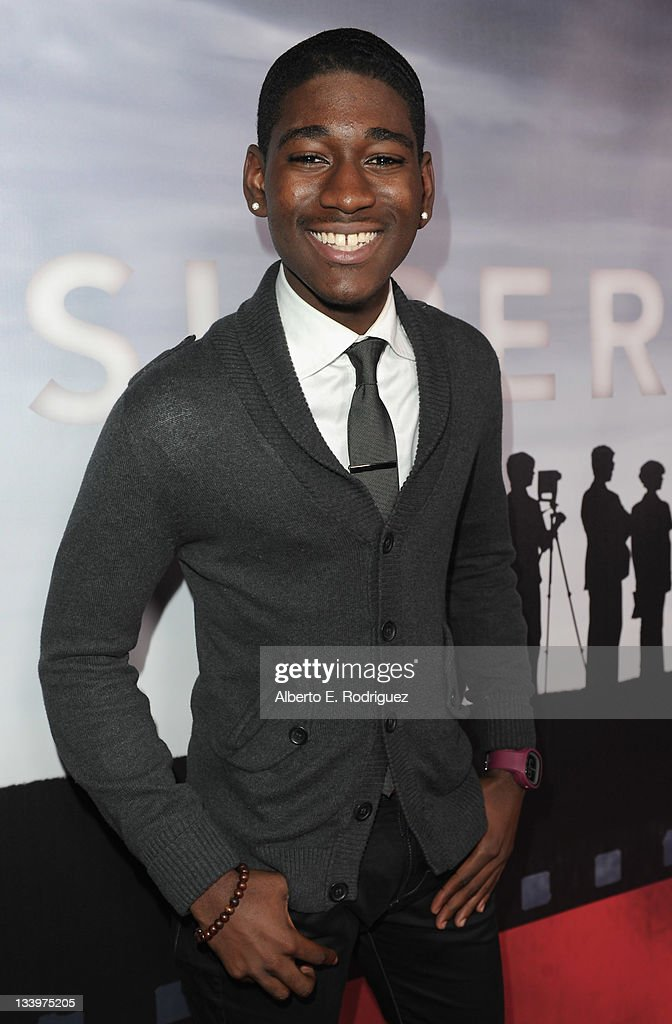 Actor Kwame Boakye arrives to Paramount Pictures' 'Super 8' Blu-ray and DVD release party at AMPAS Samuel Goldwyn Theater on November 22, 2011 in Beverly Hills, California.
