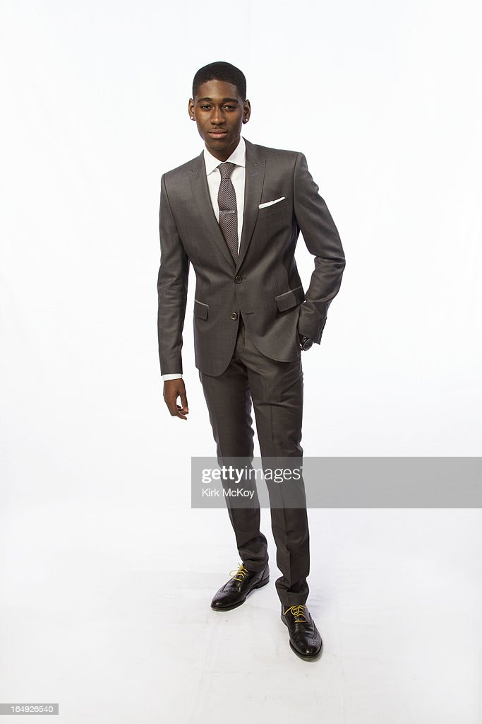 Actor Kwame Boateng is photographed at the NAACP Image Awards for Los Angeles Times on February 1, 2013 in Los Angeles, California.