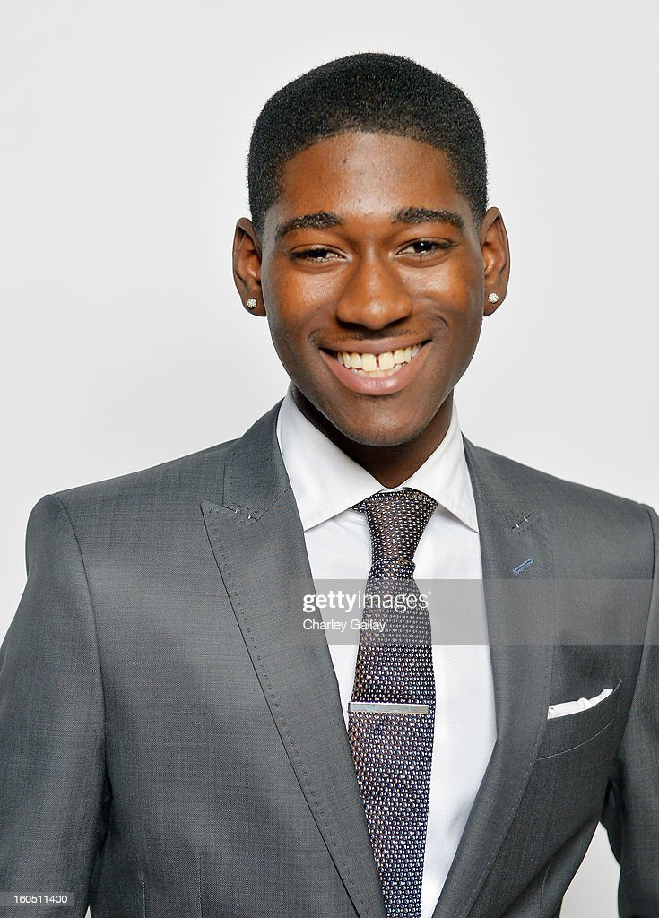 Actor Kwame Boateng poses for a portrait during the 44th NAACP Image Awards at The Shrine Auditorium on February 1, 2013 in Los Angeles, California.