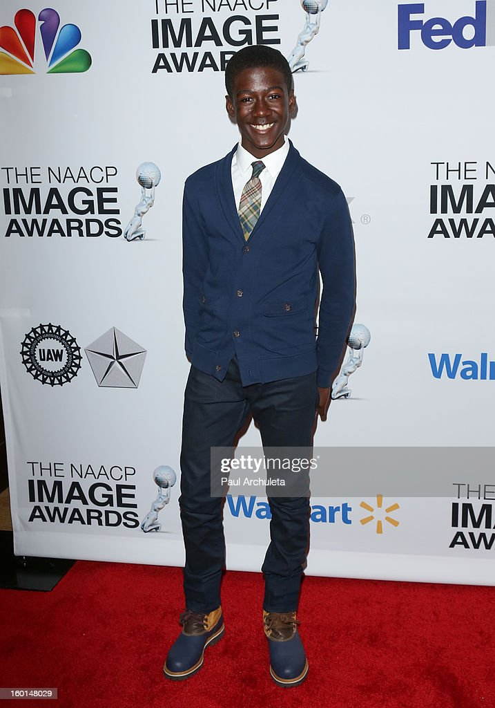 Actor Kwesi Boakye attends the 44th NAACP Image Awards nominee's luncheon on January 26, 2013 in Beverly Hills, California.