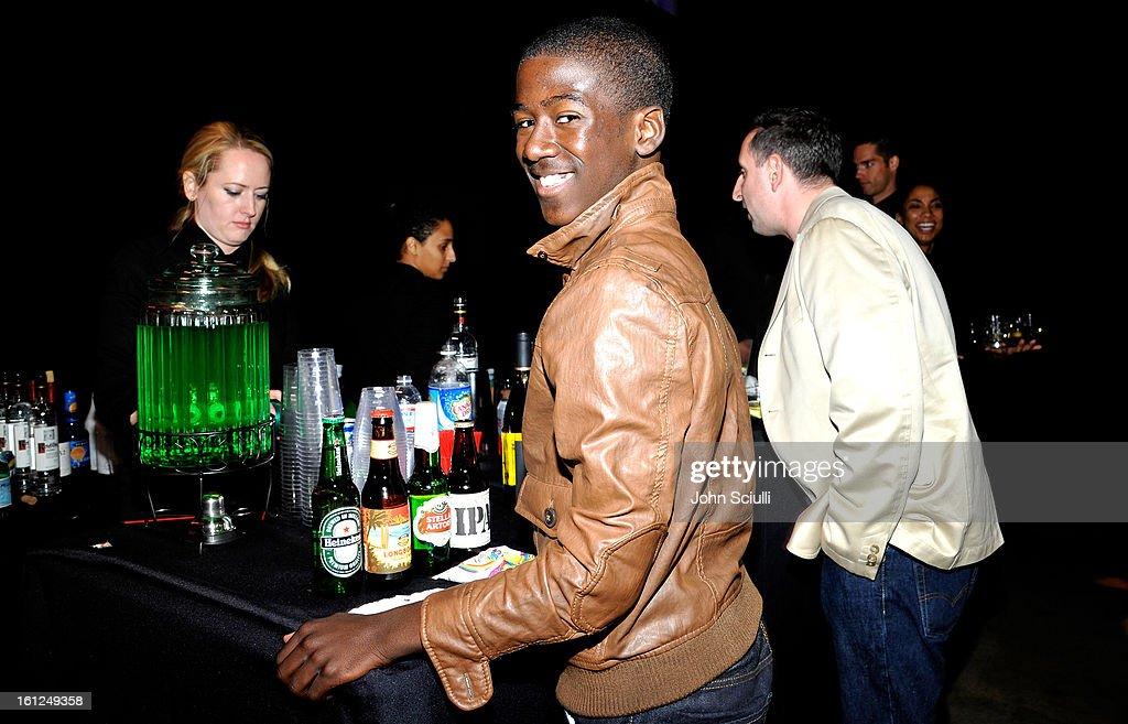 Actor Kwesi Boakye attends the Third Annual Hall of Game Awards hosted by Cartoon Network at Barker Hangar on February 9, 2013 in Santa Monica, California. 23270_005_JS_0030.JPG