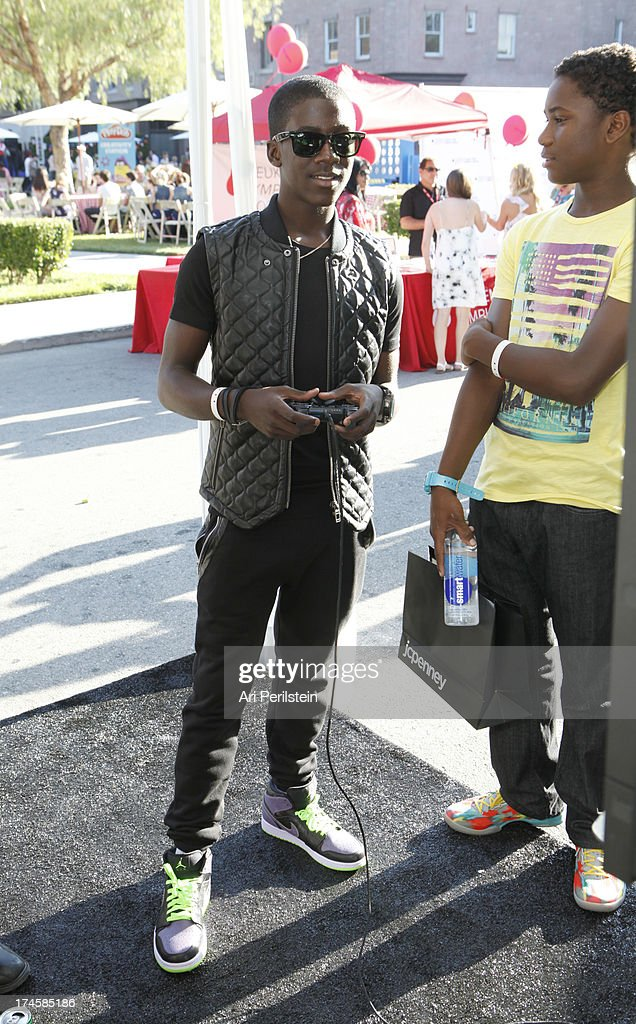 Actor Kwesi Boakye attends Variety's Power of Youth presented by Hasbro, Inc. and generationOn at Universal Studios Backlot on July 27, 2013 in Universal City, California.