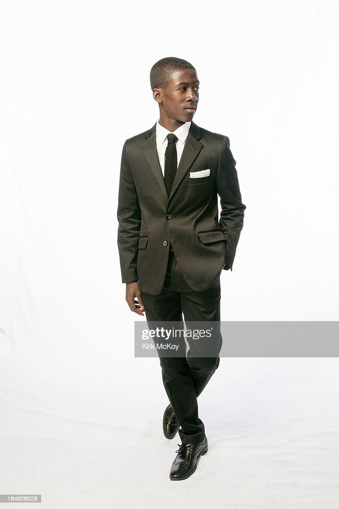 Actor Kwesi Boakye is photographed at the NAACP Image Awards for Los Angeles Times on February 1, 2013 in Los Angeles, California. PUBLISHED IMAGE.