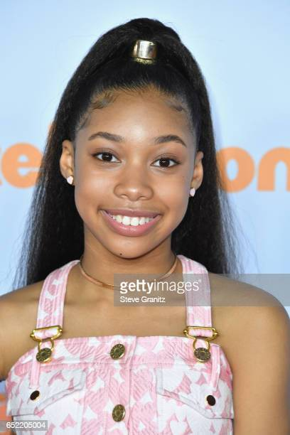 Actor KylaDrew Simmons at Nickelodeon's 2017 Kids' Choice Awards at USC Galen Center on March 11 2017 in Los Angeles California