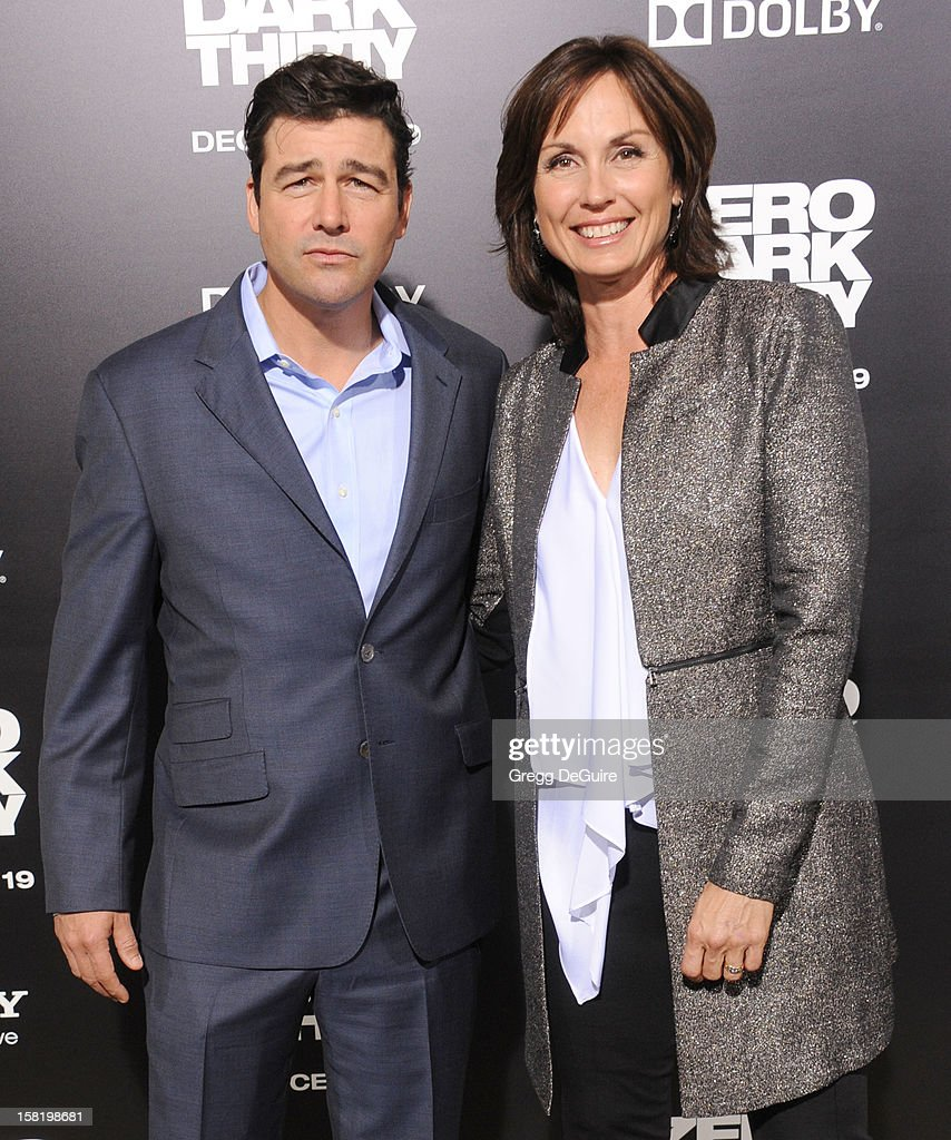 Actor <a gi-track='captionPersonalityLinkClicked' href=/galleries/search?phrase=Kyle+Chandler&family=editorial&specificpeople=745009 ng-click='$event.stopPropagation()'>Kyle Chandler</a> and wife Kathryn Chandler arrive at the Los Angeles premiere of 'Zero Dark Thirty' at the Dolby Theatre on December 10, 2012 in Hollywood, California.