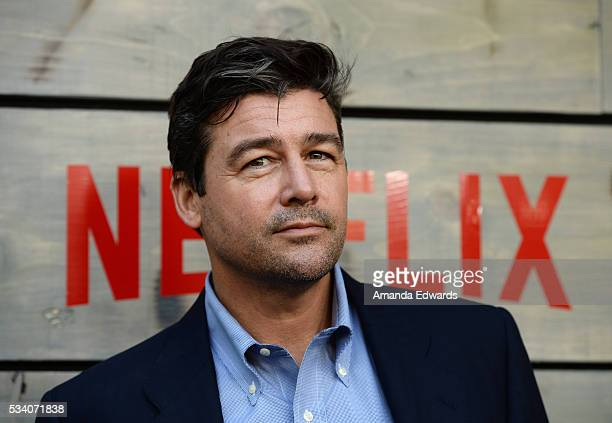 Actor Kyle Chandler arrives at the premiere of Netflix's 'Bloodline' at The Landmark Regent Theater on May 24 2016 in Westwood California